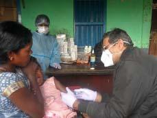 Die Schutzimpfungen der Kinder fanden unter strenger Einhaltung der Corona-Schutzmaßnahmen statt.